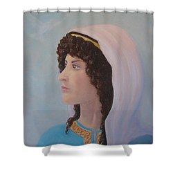 Deborah    Prophetess And Judge Shower Curtain