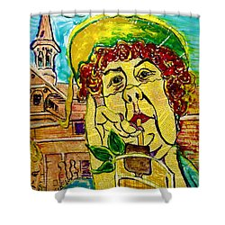 Decadent And Depraved On Derby Day Shower Curtain