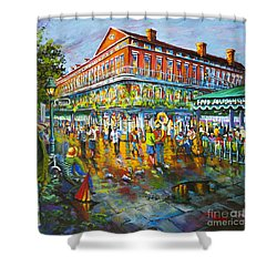 Decatur Evening Shower Curtain by Dianne Parks