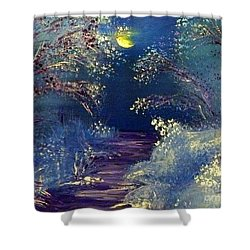 December Night Shower Curtain by Alys Caviness-Gober