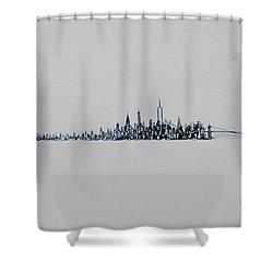 December Sky Shower Curtain
