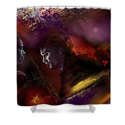 Dechirement  Shower Curtain by Francoise Dugourd-Caput