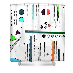 Deco 7 Shower Curtain