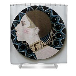 Deco Barbra Shower Curtain