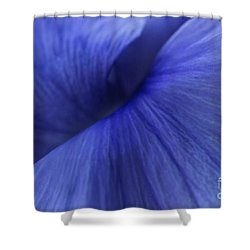 Deconstruction Of A Flower Shower Curtain by Andrea Kollo