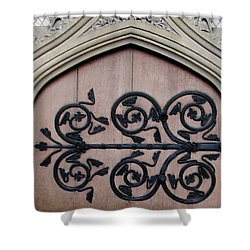 Decorative Hinge Shower Curtain