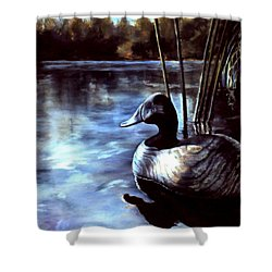 Decoy At Tealwood Shower Curtain