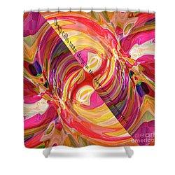 Shower Curtain featuring the digital art Deep Calls Unto Deep by Margie Chapman