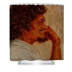 Inner Musings Shower Curtain