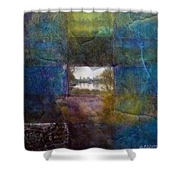 Deep Memory Shower Curtain