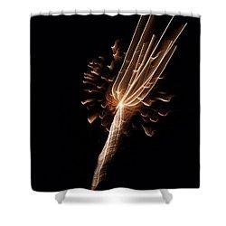 Deep Sea Firework Shower Curtain