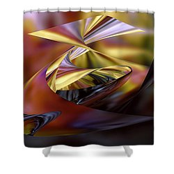 Deep Sea Mirage Shower Curtain