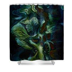Deep Sea Within Shower Curtain