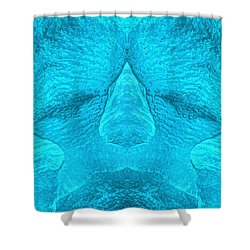 Deep Sleep Shower Curtain by Carlos Vieira