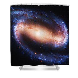 Deep Space Shower Curtain by Ayse and Deniz
