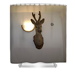 Deer Head Shower Curtain