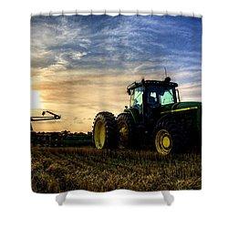 Deere Sunset Shower Curtain