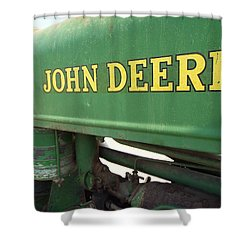Deere Support Shower Curtain by Caryl J Bohn