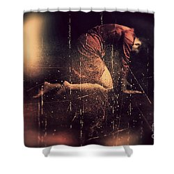 Defeated Shower Curtain