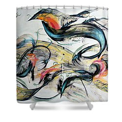Defense Of Liberty Shower Curtain