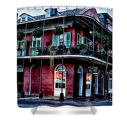 Deja Vu - Bourbon Street Shower Curtain by Bill Cannon