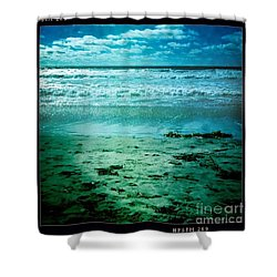 Del Mar Glow Shower Curtain