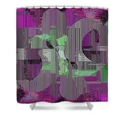Deliberations Shower Curtain by Tim Allen