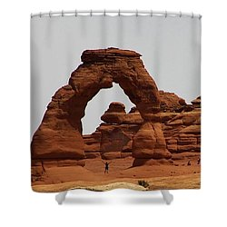 Delicate Arch Bryce Canyon Shower Curtain by Bruce Bley