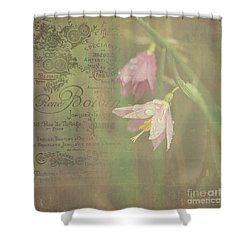 Delicate Blooms Shower Curtain