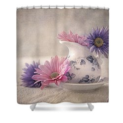 Delicate Delight Shower Curtain by Dale Kincaid