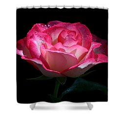 Shower Curtain featuring the photograph Delicate Fountain by Doug Norkum
