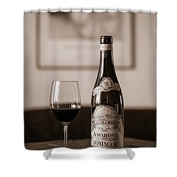 Delicious Amarone Shower Curtain