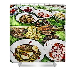 Deliciously Fresh Shower Curtain