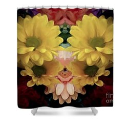 Shower Curtain featuring the photograph Delightful Bouquet by Luther Fine Art