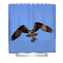 Delivery By Air Shower Curtain
