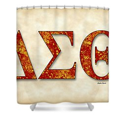 Delta Sigma Theta - Parchment Shower Curtain