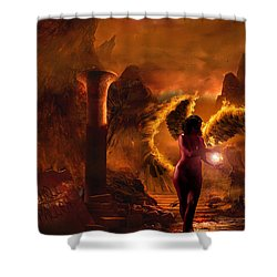 Demon's Fury Shower Curtain