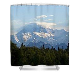 Denali A Closer Look Shower Curtain by Tara Lynn