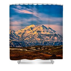 Denali At Sunset Shower Curtain
