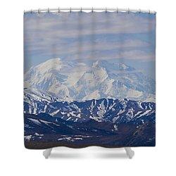 Denali  Shower Curtain by Tara Lynn