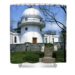1u22 Swasey Observatory At Denison University Photo Shower Curtain
