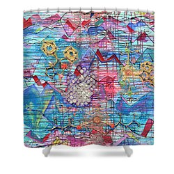 Density Of States Shower Curtain