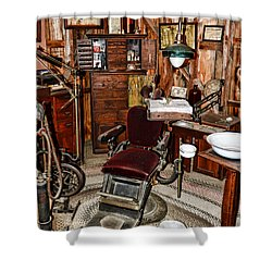 Dentist - The Dentist Chair Shower Curtain