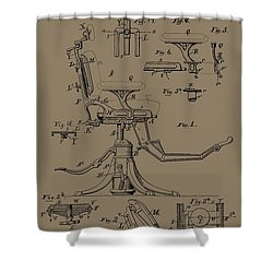 Dentist's Office Shower Curtain by Dan Sproul