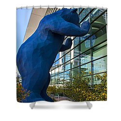 Denver Bear Shower Curtain