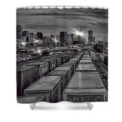 Denver's Underbelly Shower Curtain