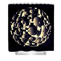 Depth Of Thought Shower Curtain by Susan Maxwell Schmidt