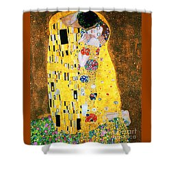 Der Kuss Or The Kiss. Shower Curtain by Pg Reproductions