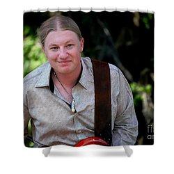 Derek Trucks Shower Curtain