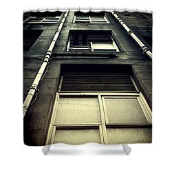 Shower Curtain featuring the photograph Derelict Building by Craig B